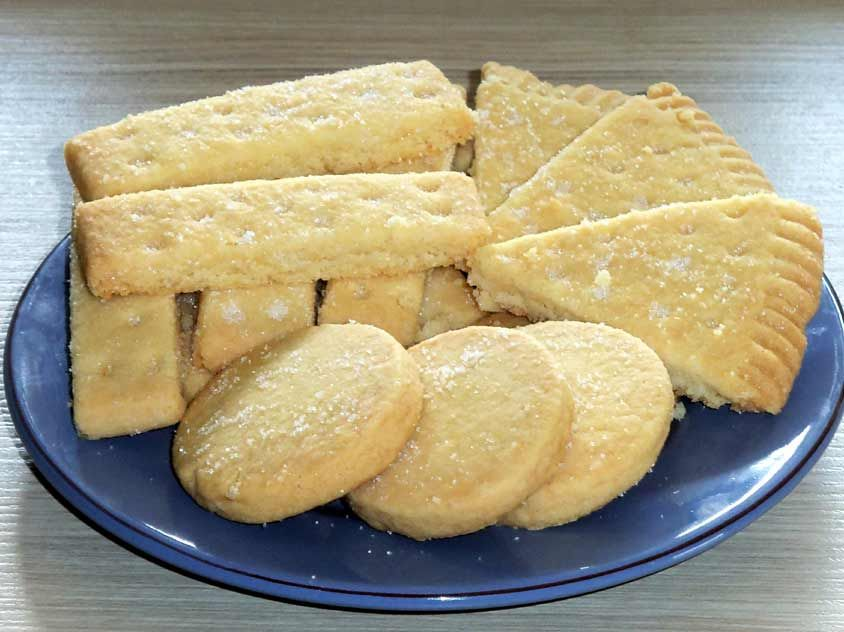 Shortbread Selber Backen