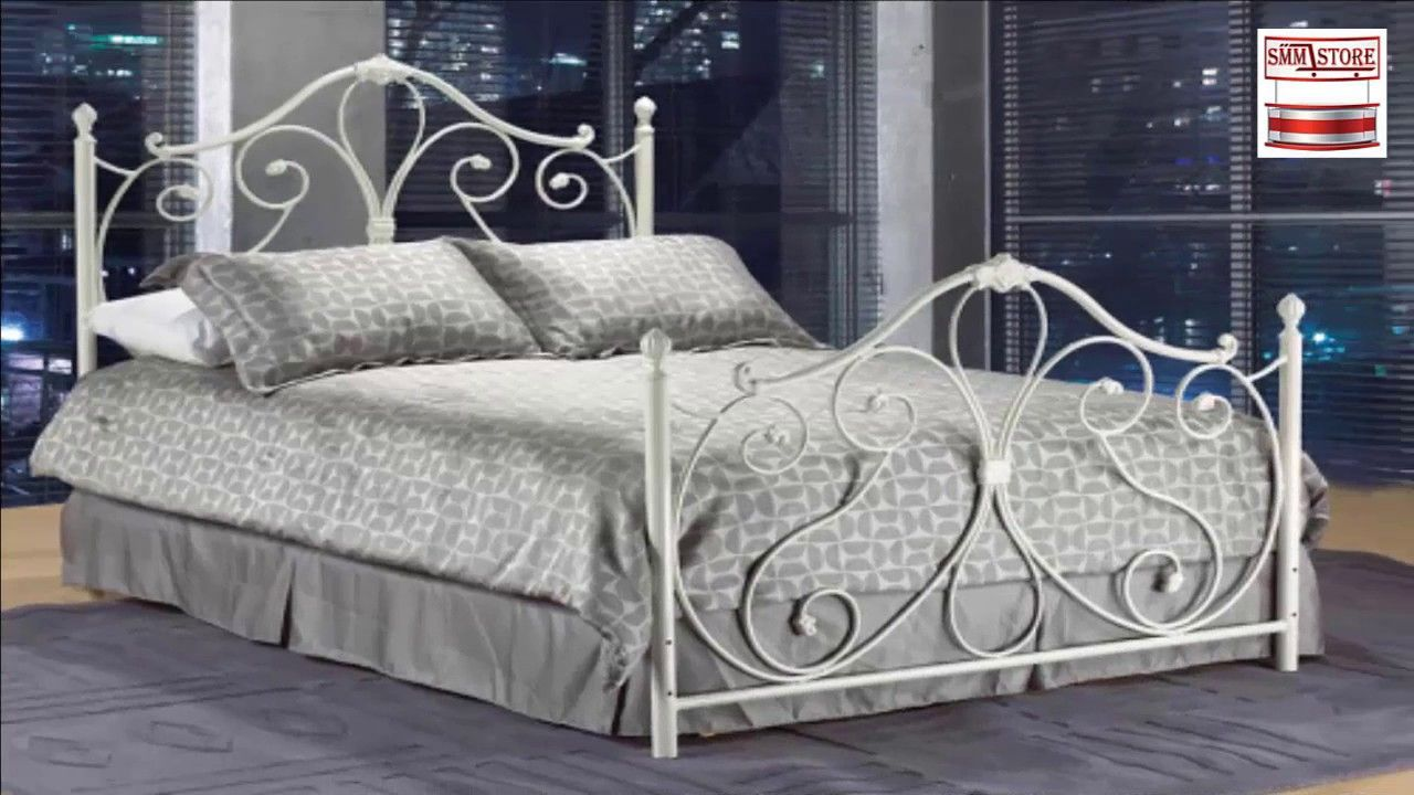 Smm Furniture Luxurious Bedroom Wrought Iron Bed Iron Bed
