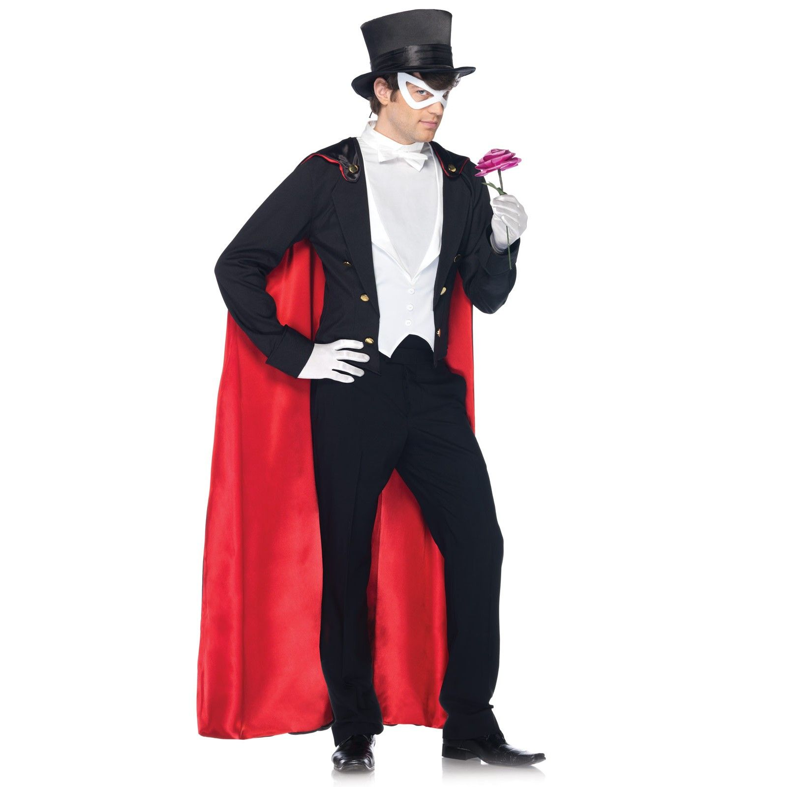 Vintage Hollywood Man's Tuxedo Adult Costume | Tuxedo mask, Sailor ...
