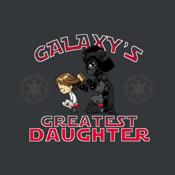 Greatest Daughter by Dooomcat - Get Free Worldwide Shipping! This neat design is available on comfy T-shirt (including oversized shirts up to 6XL ladies fit and kids shirts), sweatshirts, hoodies, phone cases, and more. Free worldwide shipping available.
