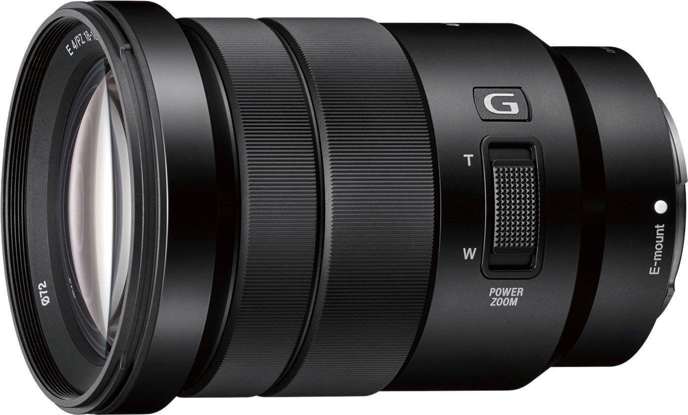 Sony E Pz 18 105mm F 4 0 G Oss Power Zoom Lens For Select E Mount Cameras Black Selp18105g Best Buy Zoom Lens Sony E Mount Sony Digital