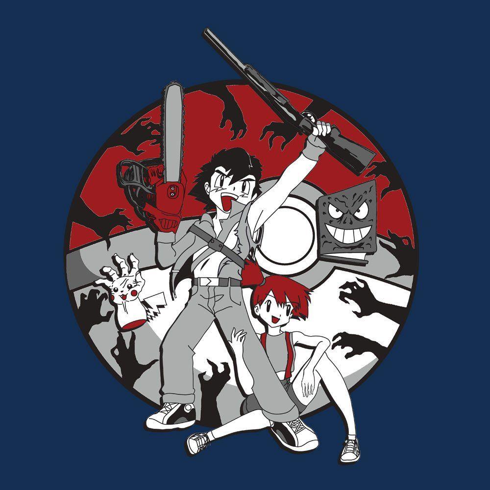 Ashes To Ashes Ash Vs Evil Dead Pokemon Stuff Pokemon Ash T Shirt