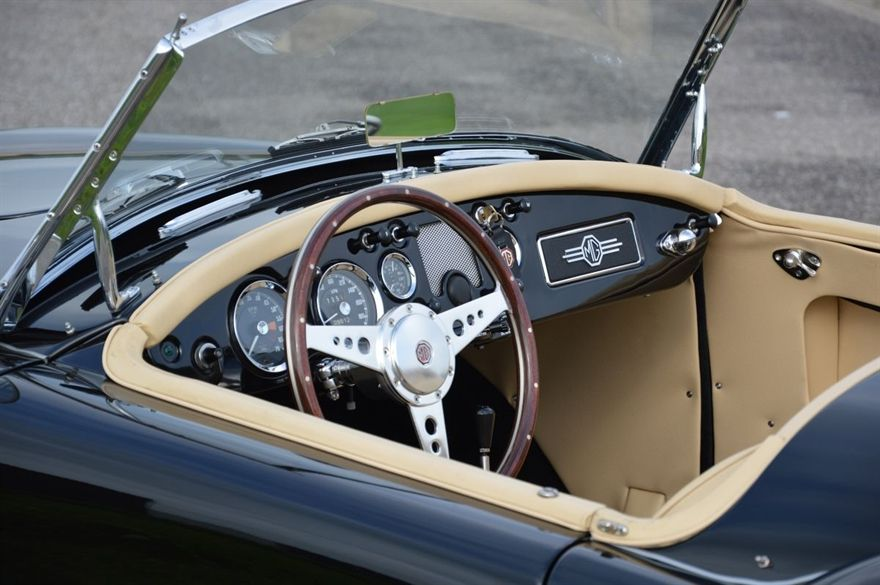 Mga Mk I 1960 Cockpit Old Cars Classic Cars Cool Cars