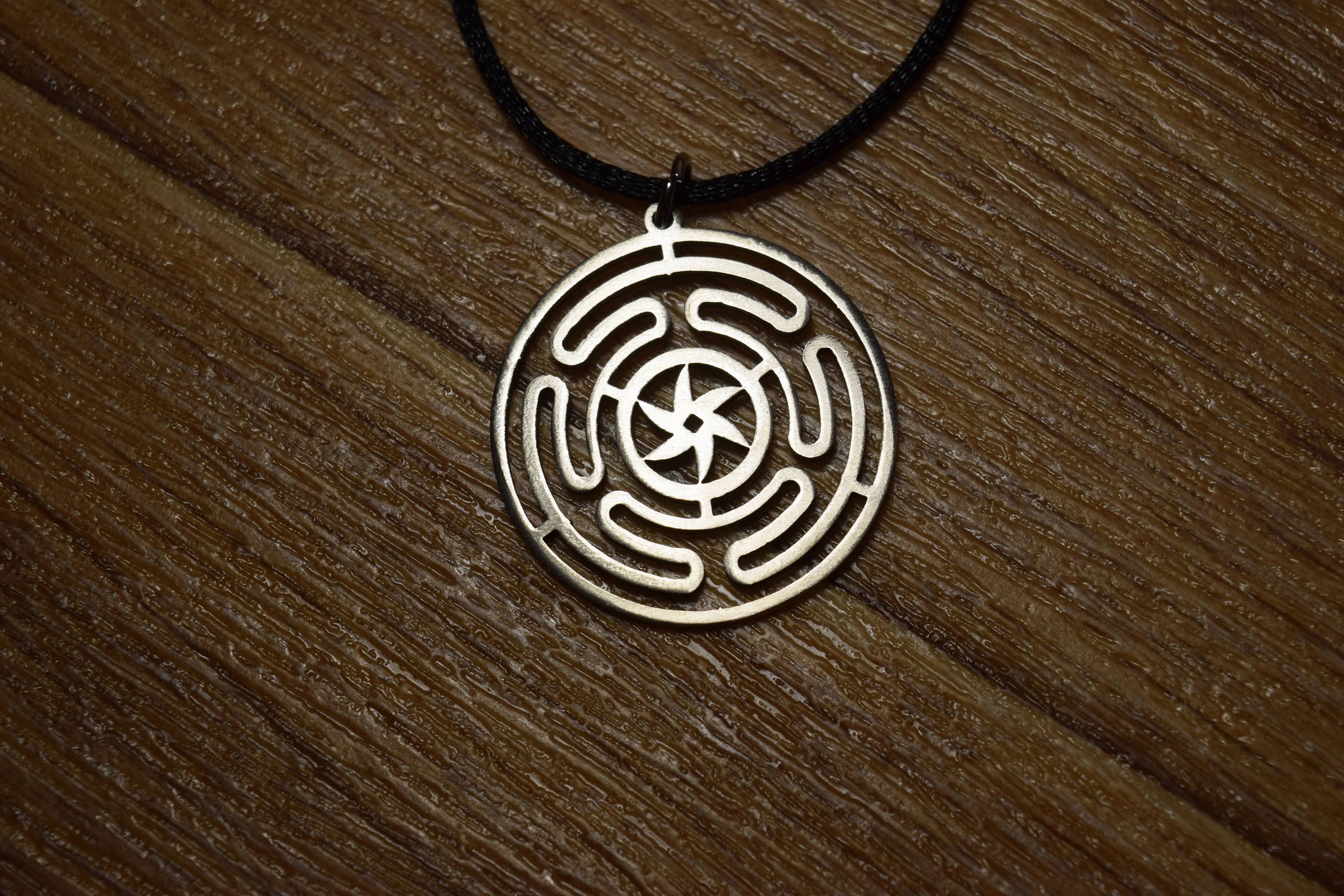 medusa needs and hecate greek product pendant wheel symbol goddess of magickal feminine