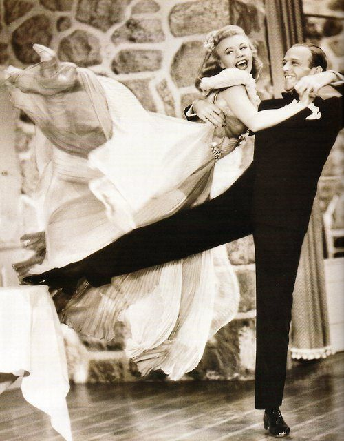 Fred Astaire and Ginger Rogers - Classic Hollywood...they just don't make them like they used to!