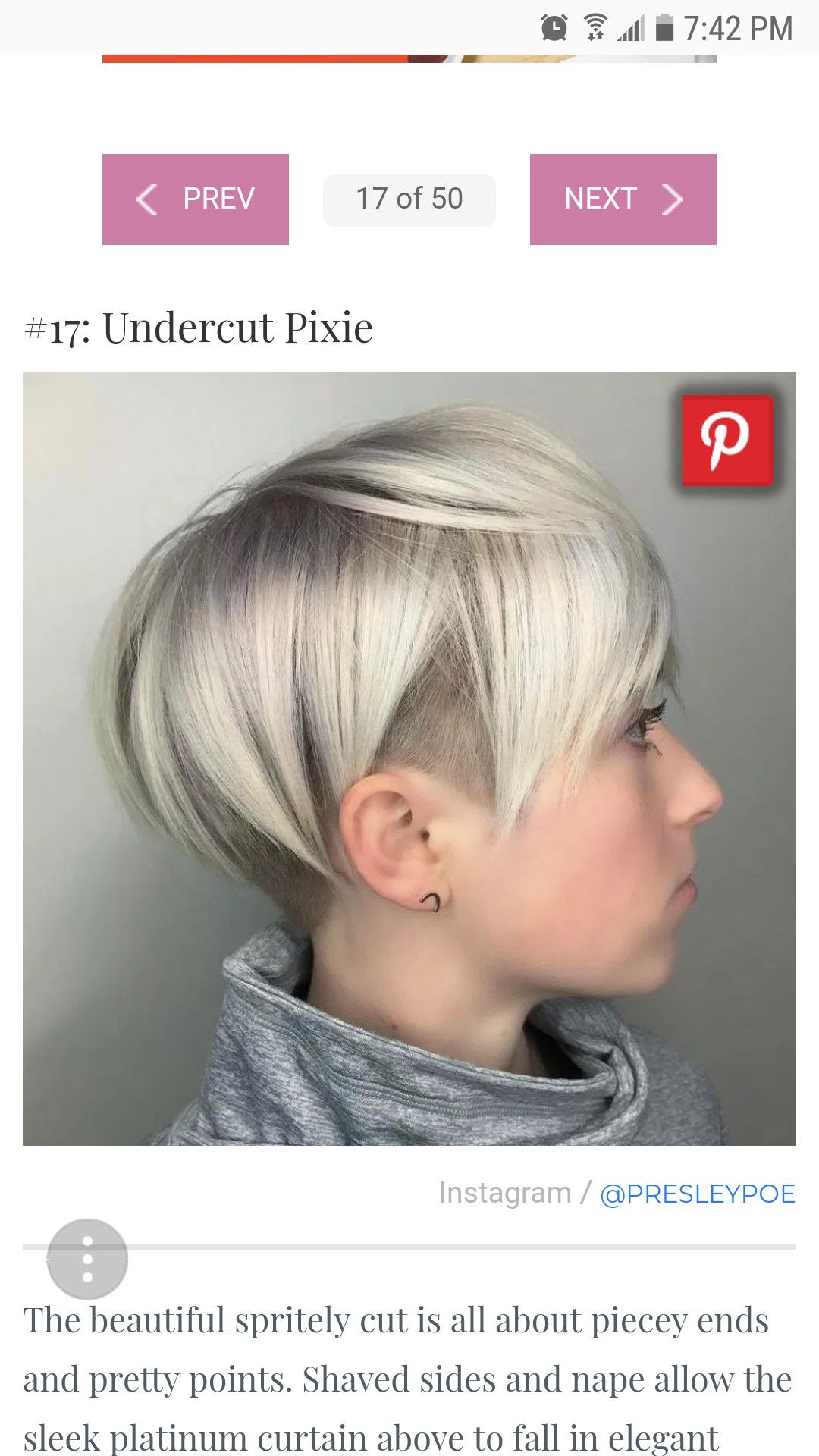 Pin by emily freehauf on hair pinterest