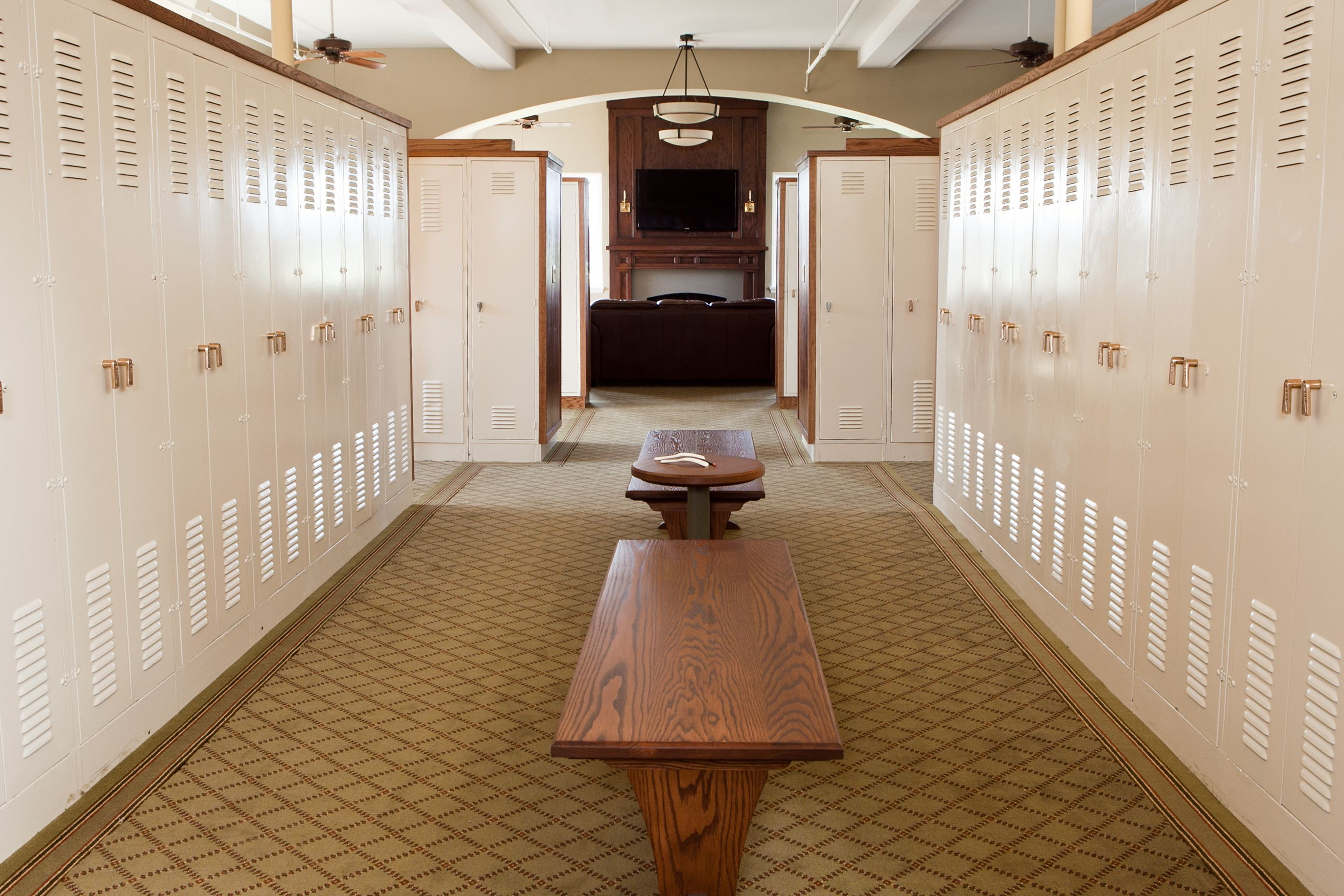 golf club locker room murphy brothers clubs light commercial