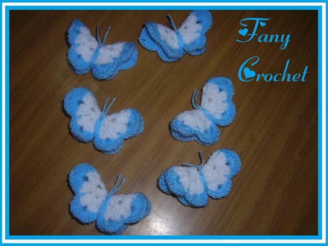 Fany Crochet: Escarapelas | Escarapelas | Pinterest | Tejido ...