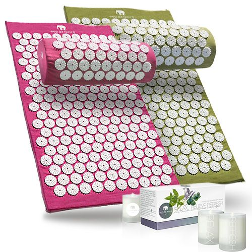Acupressure And Aromatherapy Set By Bed Of Nails Featured