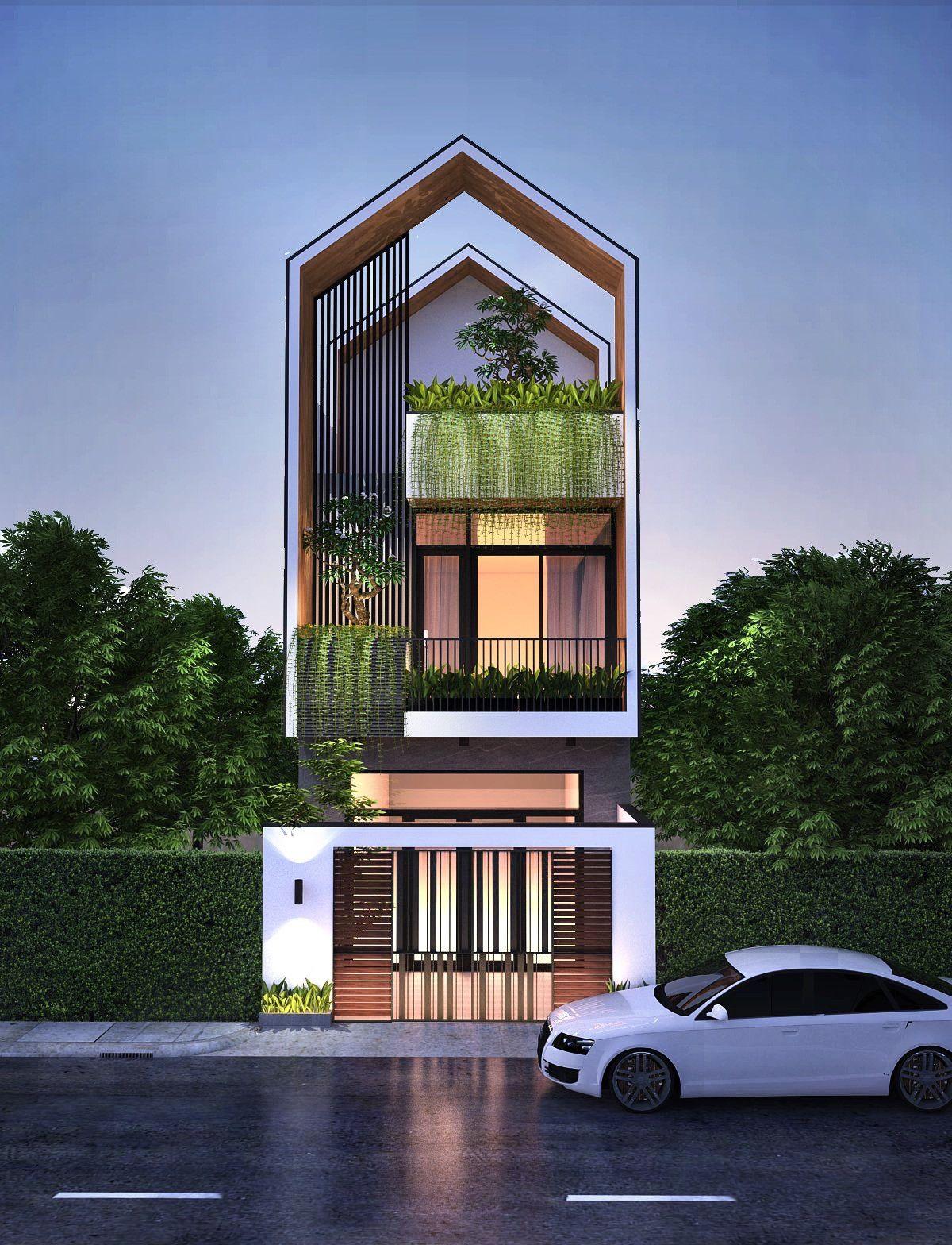Small Lot Home Designs 2020 Narrow House Designs House Designs Exterior Narrow Lot House