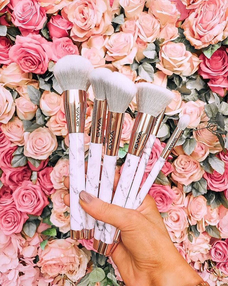 The Marble Collection 7pcs Makeup Brush Set The Marble