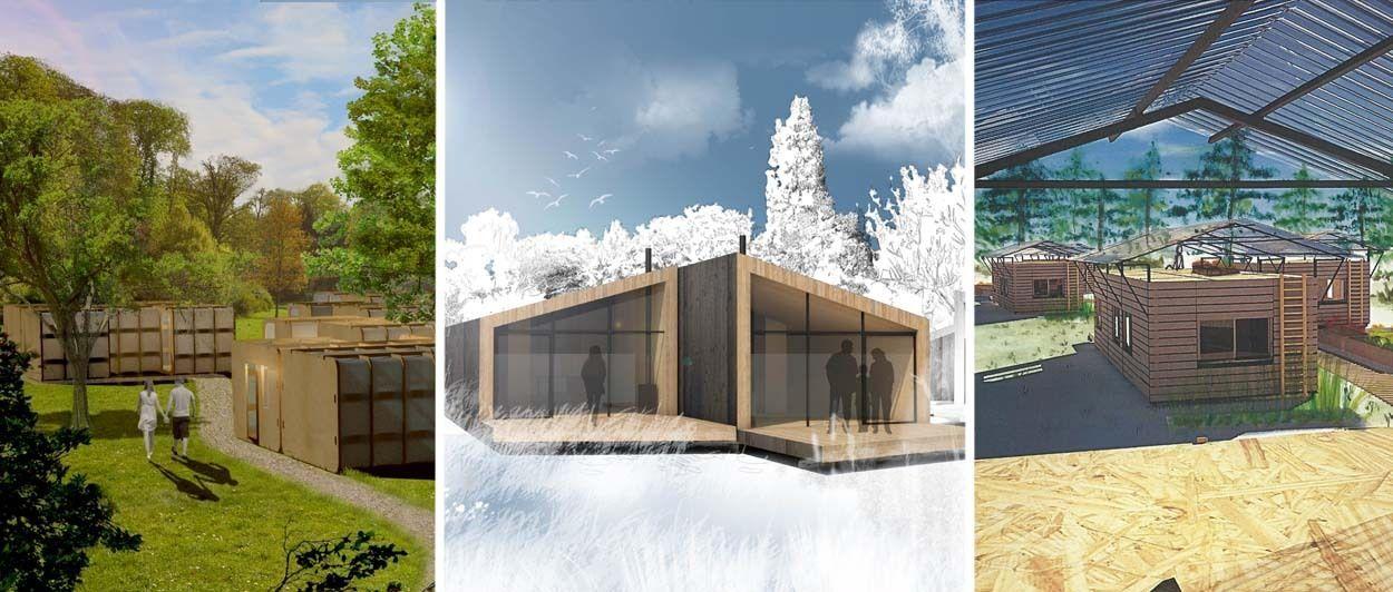Une maison souterraine passive fabriquée en france maisons souterraines piscines et écologie