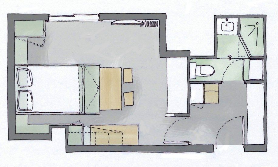 Plan avant après du0027un appartement de 36m2 Plans Pinterest