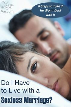 What to do if you are in a sexless marriage