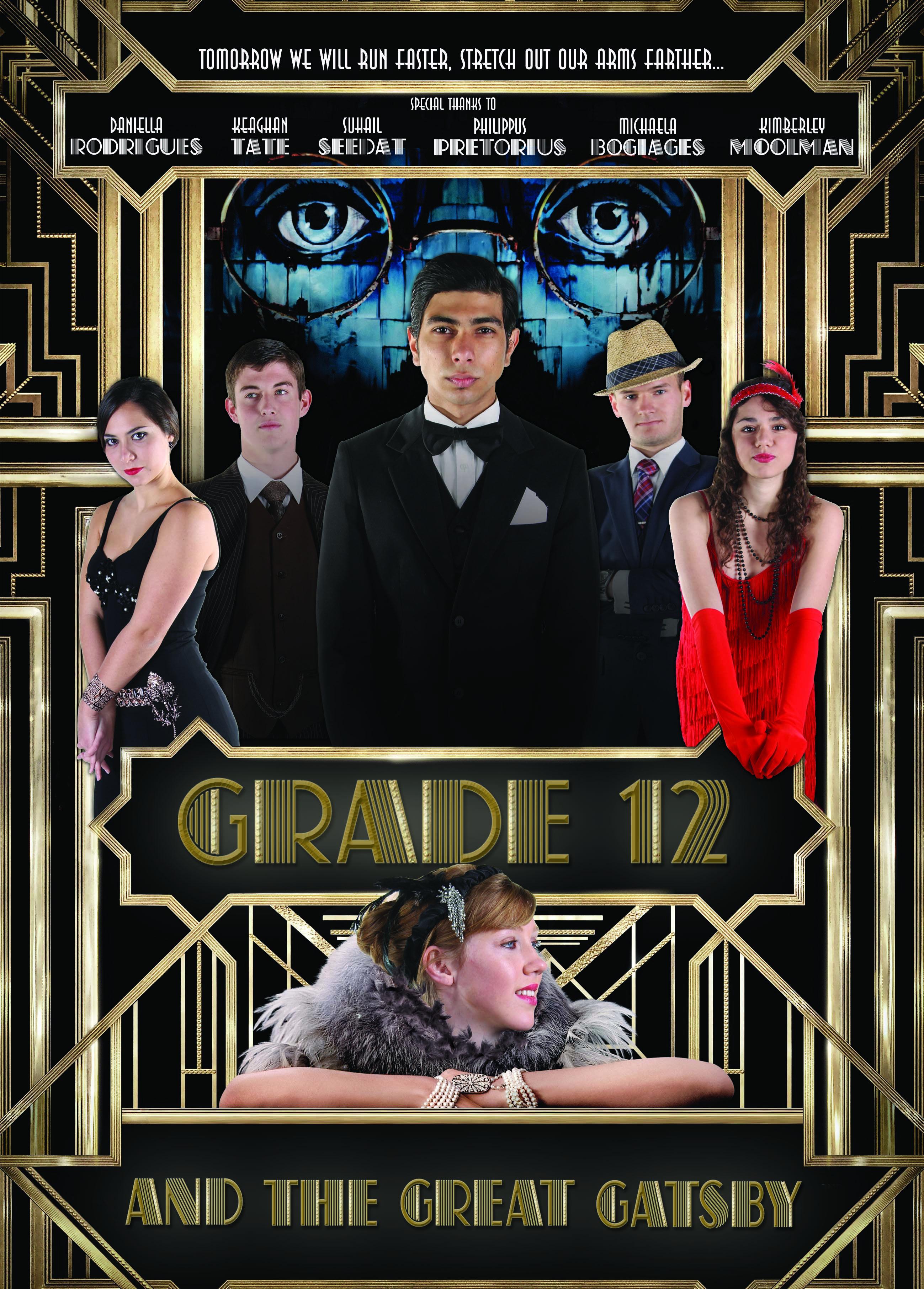 Grade 12 Leader Poster Broadway Theme