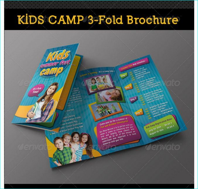 Kids Camp Summer Fest Bundle  Party Flyer Templates For Clubs