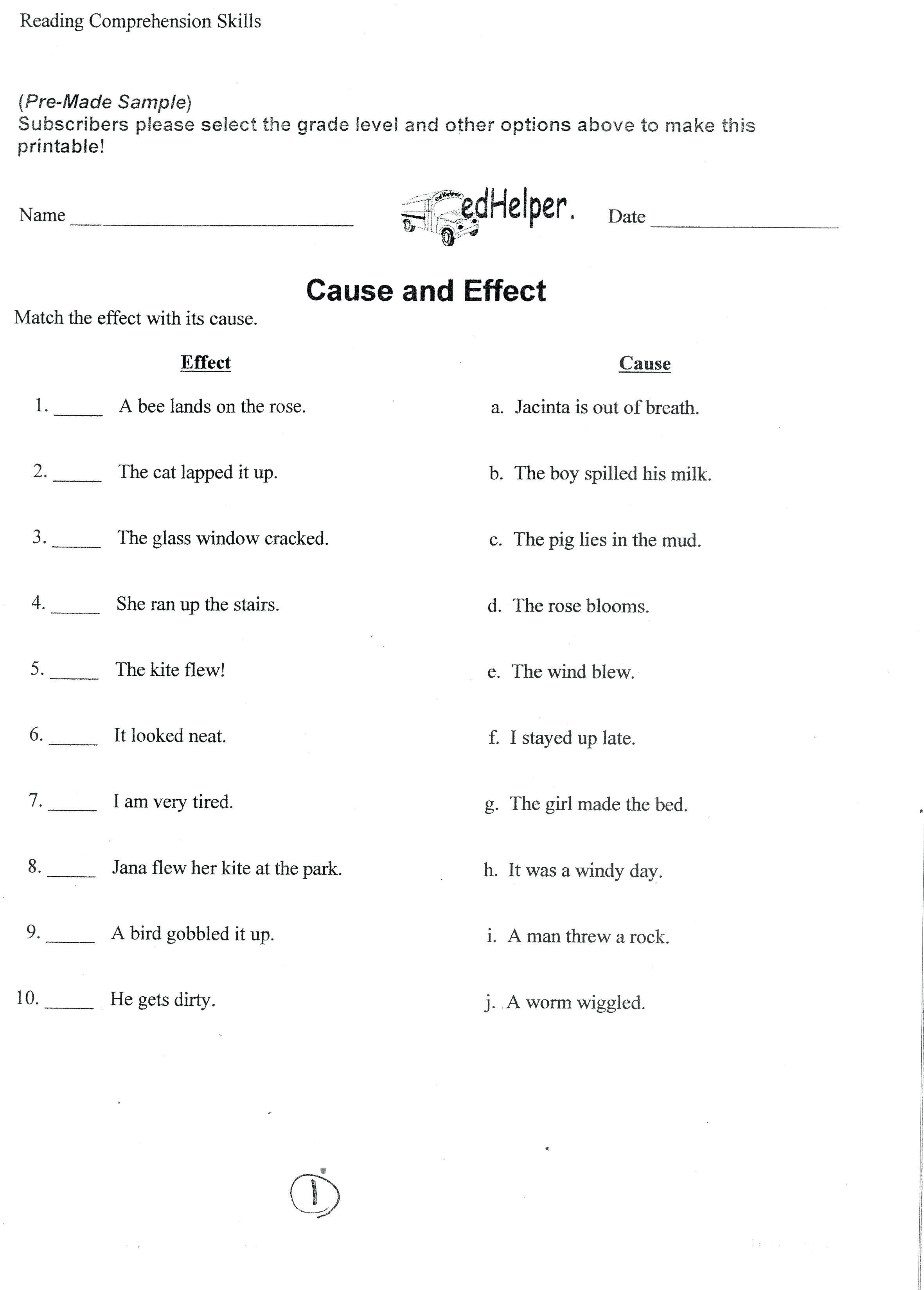 small resolution of 9th Grade Printable Worksheets