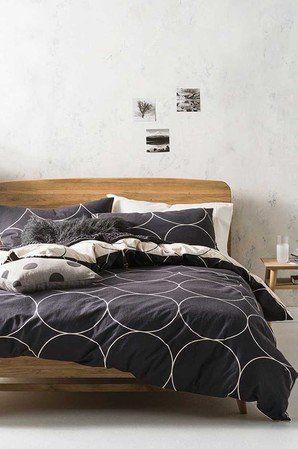 Linen House Globe Flannel Quilt Cover Set Kb Quilt Cover Sets