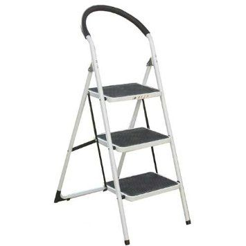 Lightweight Step Ladder With Handrail