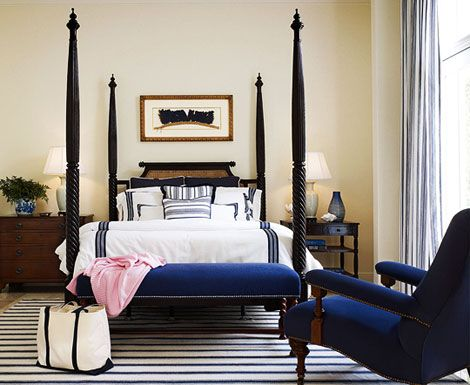 Best Beautiful Rooms In Blue And White Blue Bedroom White 400 x 300
