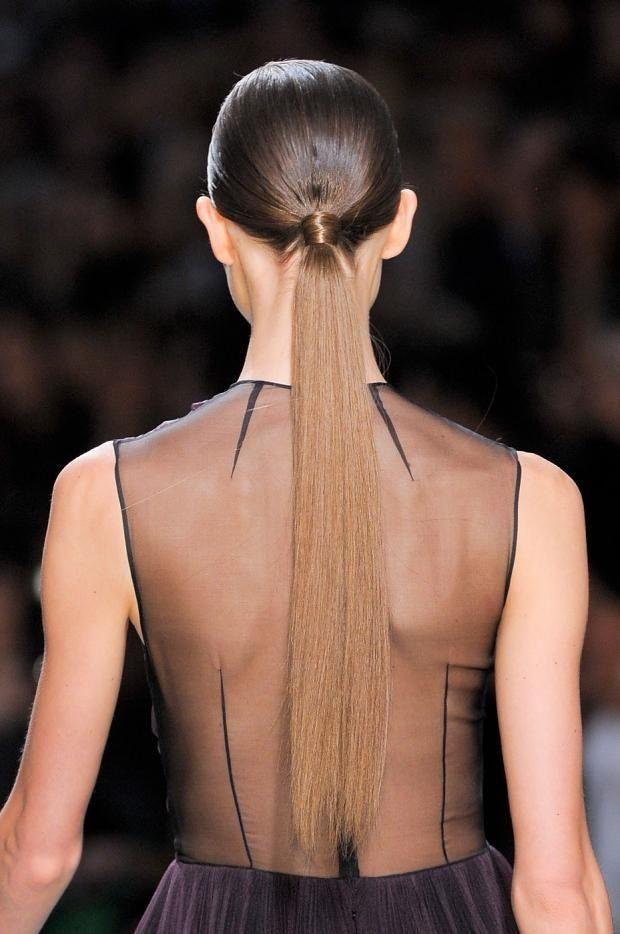 Rabo baixo e cabelo bem liso #hair #pontails