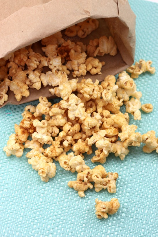 Peanut Butter Popcorn - A Whisk and Two Wands