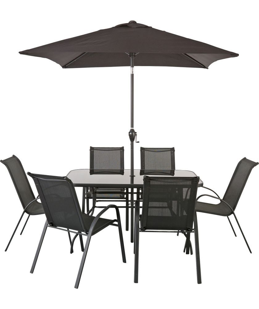 Buy sicily 6 seater patio set at argos co uk your online shop for garden table and chair sets