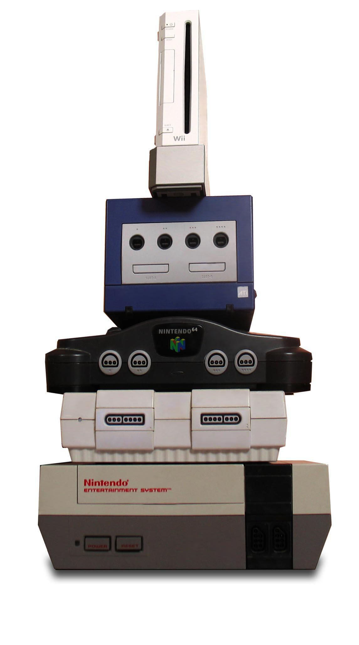 video games consoles from nintendo from top to bottom wii rh pinterest com manual tecnico super nintendo pdf Tecnicos De Moldeo