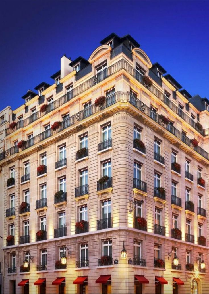 Best Hotels In Paris Paris Hotels Hotels In France
