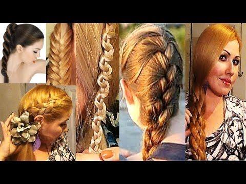 Peinados diferentes con trenzas pautips