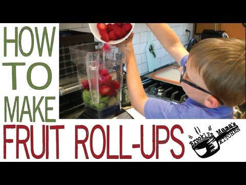 On this episode Zach and I are making fruit roll ups! They are super easy to make and if you make them at home they will not have any added sugars or preservatives. They make a great snack and/or desert and your kiddos will love helping you make these. Enjoy!  Ingredients: 1 cup strawberries (cleaned) 1 cup kiwi (pealed)