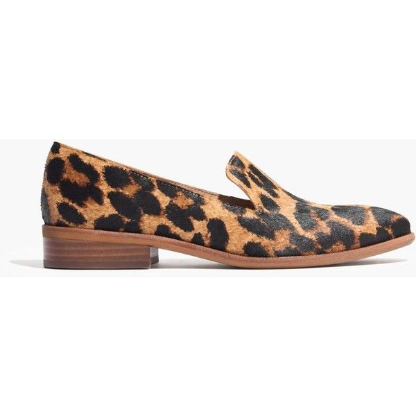 b5f1b36d425 MADEWELL The Orson Loafer in Leopard Print ( 168) ❤ liked on Polyvore  featuring shoes