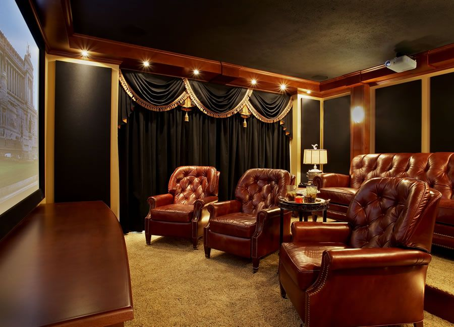 We Have Been Producing Home Theater D And Curtains