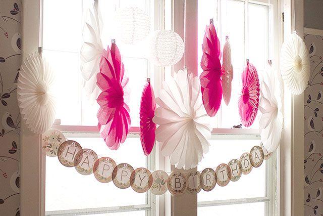 window decorations - Homemade Decorations