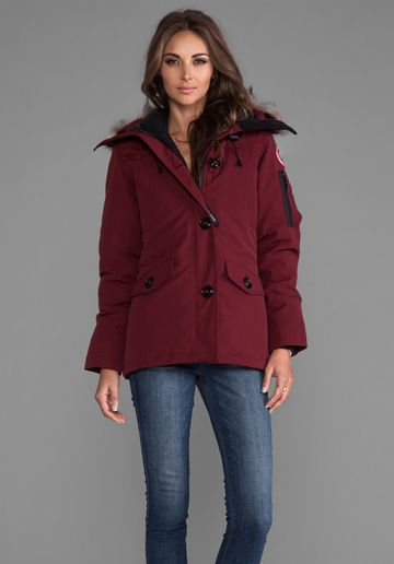 CANADA GOOSE Montebello Parka in Niagara Grape  b91ffd139