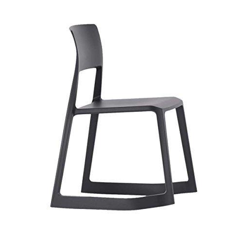 Vitra 440 230 0001 Tip Ton Stuhl Basic Dark Stapelbar Ton Stuhle Stuhle Plastikstuhle