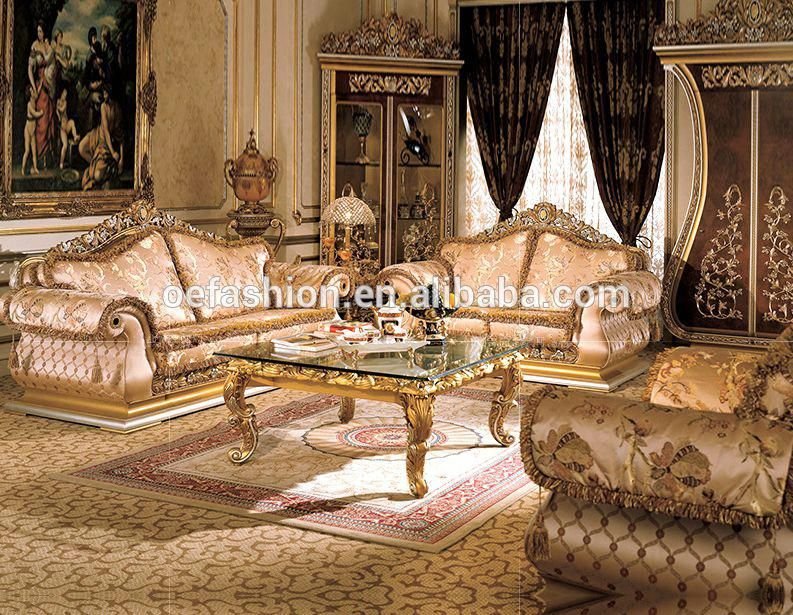 Oe Fashion Luxury Customize Gold Europe Style Wood Carved Sofa Living Room View Sofa W Luxury Sofa Living Room Living Room Decor Furniture European Home Decor