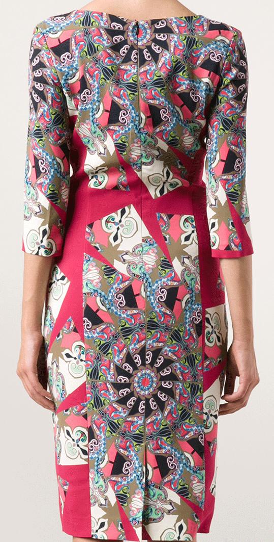 Etro_Mosaic dress_back_ http://www.lyst.com/clothing/etro-mosaic-dress-red-pnk/