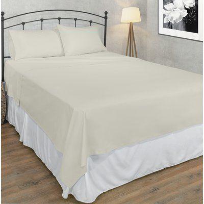 Eider Ivory Hapeville 200 Thread Count 100 Cotton Sheet Set Cotton Sheet Sets Sheet Sets Bed Sheet Sets