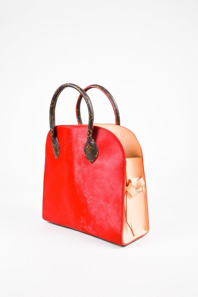 5a2bf463af9 Louis Vuitton x Christian Louboutin Brown Red Celebrating Monogram ...