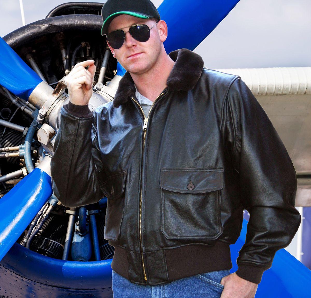 U.S. Navy G1 Flight Jacket Official Issue Bomber