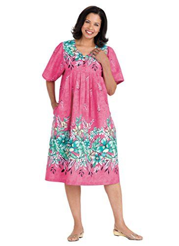 AmeriMark Women\'s Border Print Patio Dress | I Love Fashion ...