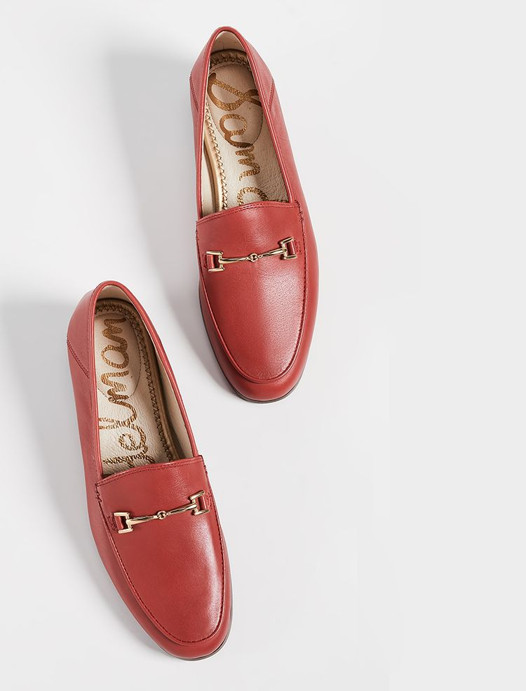 Sam Edelman Loraine Loafers | Red