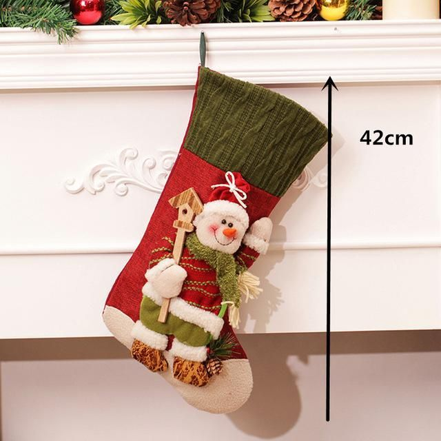 Large Creative Christmas Stocking,Chrismas Decorations for Home