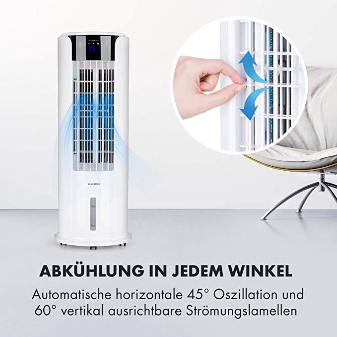 Amazon De Klarstein Skyscraper Horizon 3 In 1 Mobiles Klimagerat Mit 60 Watt Leistung Heat Edition 3 In 1 Luftkuhler Luftbefeuchter Ventilator Luftkuhler