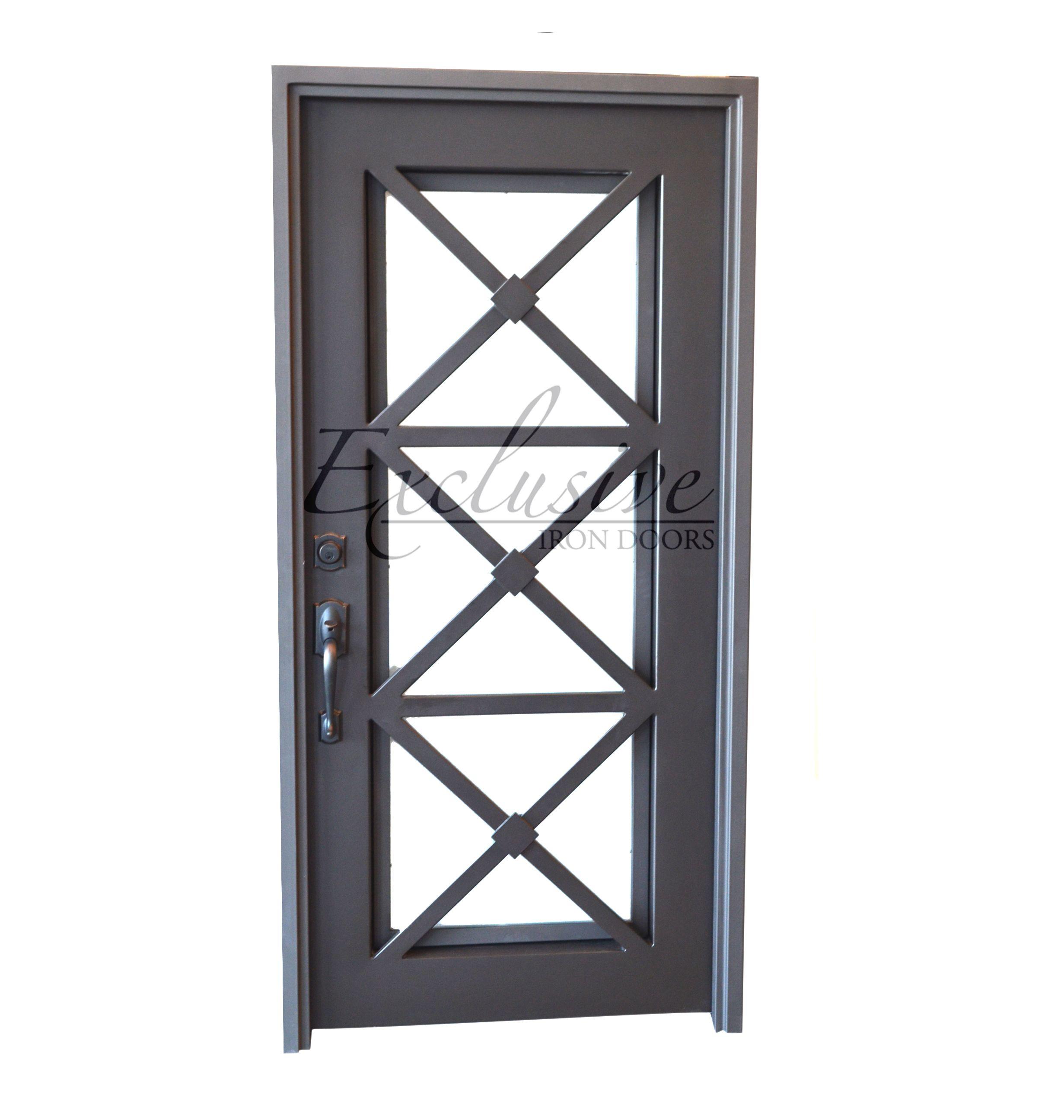 Camille Popular Single Iron Door Iron Doors Wrought Iron