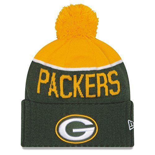 b38c5751 Green Bay Packers Knit Hat | Sports Team Cuffed Hats | Green bay ...