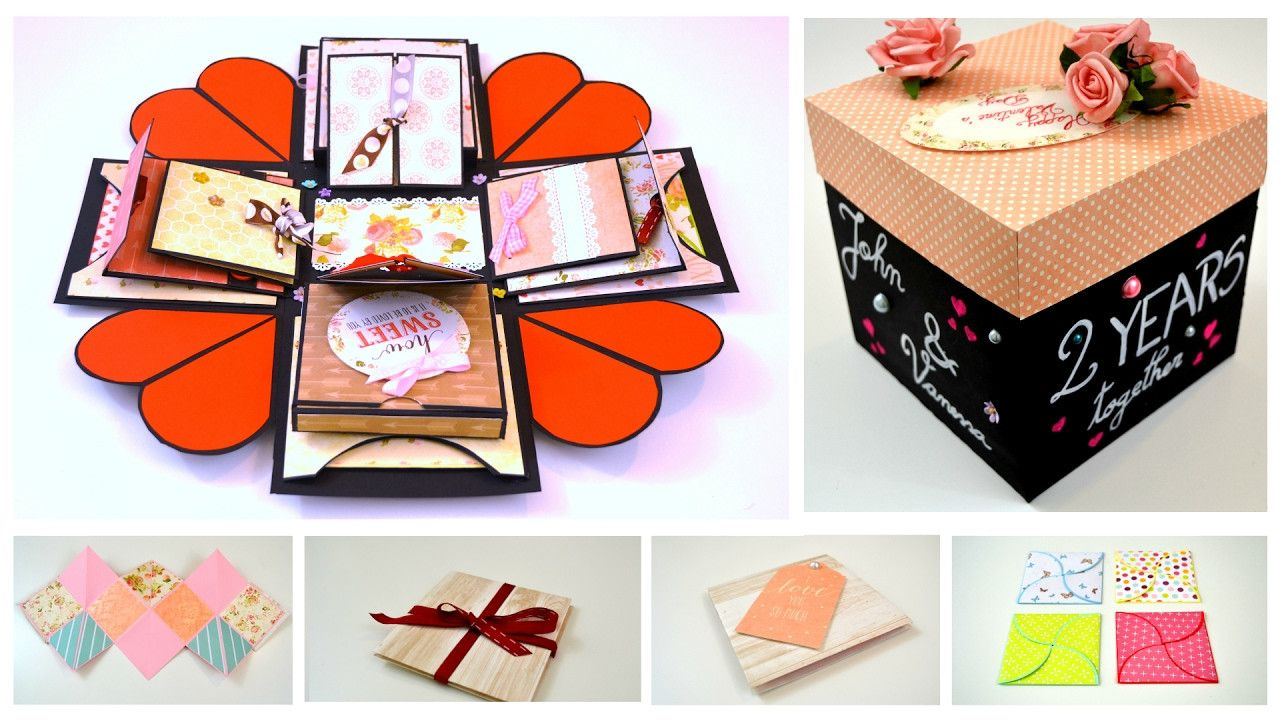 20 Of the Best Ideas for Diy Exploding Box Diy crafts