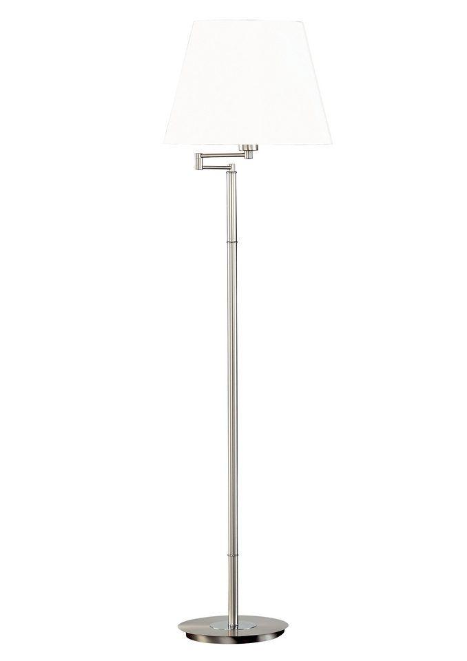 Honsel Leuchten Stehlampe »WIESBADEN« silber, Energieeffizienzklasse