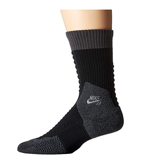 separation shoes be390 bc367 NIKE Skate Crew 2.0 Sock, BLACK ANTHRACITE ANTHRACITE.  nike  cloth